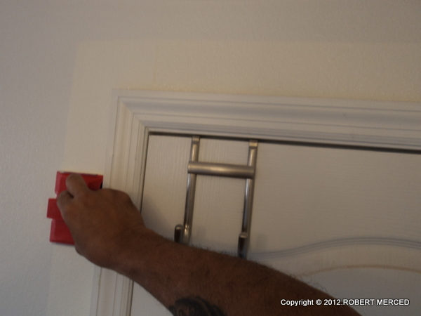 How to paint around trim